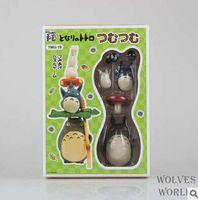 Wholesale My Neighbor Totoro Action Figures Japanese Anime Miyazaki Assemble Doll Cartoon Children Toys Cute Totoro Christmas Kids Gift Z002
