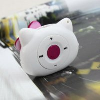 Wholesale Mini Lovely Cartoon Mp3 Player Sport Portable Music Player With Micro TF Card Slot MP3 ONLY