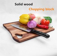 Wholesale New Wooden Chopping Block Wood Thicken Solid Wooden Chopping Block Log Kitchen Cutting Board Cooking Tool I