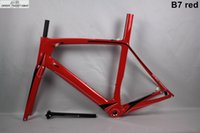 bh road bike - BH G6 Carbon Bike Frame BSA BB30 UD Road Cycling Bicycle Frame full red no decal personlized plant supply high quality