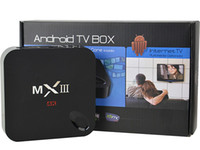 Wholesale Mx3 Gigabit Lan Tv Box G Ram Android MXIII S812 Smart Ott Tv Box Wifi K Tv Box S812 Chip