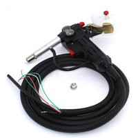 Wholesale MIG welder Meters Spool Gun Push Pull Feeder Aluminum copper or stainless steel DC V Motor Wire mm Welding Torch