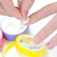 Wholesale Flower Flavor Wet Wipes Paper Towel Nail Art Polish Vanish Remover Pads K00073 SMAD