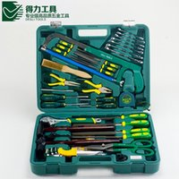 Wholesale Price DL1056G a set DELI Household multifuncional repair tool set Modern Design