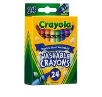 Wholesale Crayola colors Nontoxic Washable Crayons World s Most Washable coloring books for kids Gift Toys A8