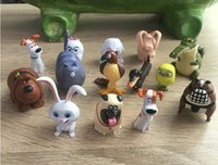best life movies - The Secret Life of Pets Movies Action Figures set cm Toy Model Children Kids Toys Doll Max Chloe Snowball Rabbit Gidget Buddy best