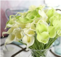 Wholesale Mini calla flower PU simulation artificial flowers wedding holding flowers home decoration