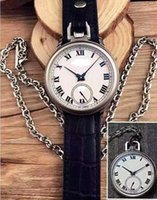 Wholesale CHP L U C LUC high quality mm men s watch in DUAL USE POCKET wristwatch pocket clock watch mechanical hand winding automatic