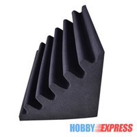 acoustic foam corner - New Corner Bass Trap Set Acoustic Panel Sound Absorption Soundproof Foam x30x30cm x11 x11 in Colors KK1043
