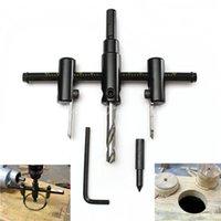 Wholesale 30mm mm Adjust Wood Circle Hole Saw Cutter Tool Kit Set Cordless Drill Bit
