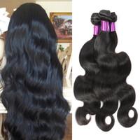 Wholesale Malaysian Virgin Hair Body Wave Bundles malaysian body wave bella hair extensions top merchant bellahair