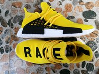 best brand for running shoes - Fashion Brand NMD Human Race Runner Boost Running Shoes Best Quality Trainers Hu race For Men Women Sport Shoes Sneaker US5