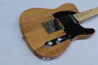 Wholesale Best price High Quality Natural color tele guitar Ameican standard TeLecaster electric Guitar