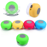 Wholesale BTS Bluetooth Car Kit Water Resistant Mini Portable Shower BT Speaker with Sucker Support Hands free Calls for Mobile Phone