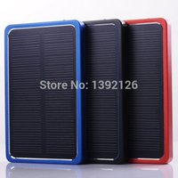 banks usa - New mah solar power bank back up power for electronic devices sunlight portable solar charger to Russia USA