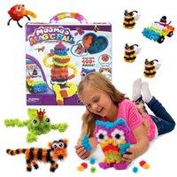 Juego de juguete de construcción Mega paquete de 400pcs / set Cabritos arte artesanías rellenos Pet Block Building Block mejor juguete para niños