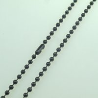 ball chain stores - fashion jewelry stores stainless steel necklace width M ball chain color black vacuum plating
