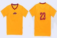 Wholesale Men s basketball short Jerseys with logos top quality sport ware LeBron James with L