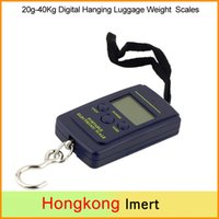 Wholesale New Digital Weight Scales Hanging g Kg Luggage Fishing kitchen Scales cooking tools electronic Hot Worldwide for Christmas