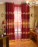 Wholesale Brand New Custom Made Luxury cortinas Blackout Lace Curtain for Living Room Joyous Wedding Eco Friendly Tulle Curtains Rideaux tende casa