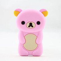 apple nano generations - Cartoon D Cute Bear Silicone Skin Case Cover for Apple iPod Nano th Generation G pink