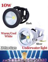 aluminum pools - Aluminum Led lights LED Underwater Light LED W V Aquarium Fountain Pool Lamp light IP68 Waterproof Warm cool white lights MYY