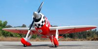 aerobatic planes - 2016 Real Helicopter Geebee Rtf Rc Remote Control Glider Aircraft Sport d Inverted Flight Axial Rolls Aerobatic Plane Toprc mm Model