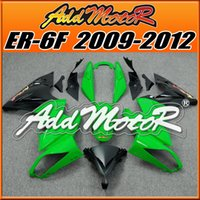 best kawasaki - High Quality Fairings Addmotor Best Chioce Compression Mold ABS For Kawasaki Ninja R ER F Geen Black K4236 Free Gifts