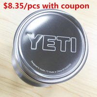 best steel water bottle - Best Quality Yeti oz Cups Cooler YETI Rambler Tumbler Cup Stainless Steel Vehicle Beer Mug Double Wall Bilayer mlwith coupon