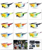 Wholesale 20PCS New colors Mens Jawbreakers Polarized Sunglasses Quality Designer Sun Glasses For Men Women Sport Sunglasses D617