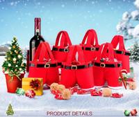 Wholesale Christmas Santa Claus Christmas Gift Bag Christmas gift Christmas gift box Children s toy bag Wedding Candy Bag Christmas bag Santa Claus