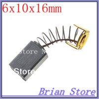 Wholesale 10 X10X16 mm Carbon Brush CB Replacement Z1G FF HAMMER DRIL carbon brushes replacement carbon brush