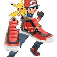 ash ketchum shoes - Pocket Monster Ash Ketchum cosplay cos shoes