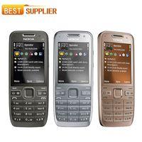cordless phones - 2016 Promotion Sale p Color Slim mm mm Original Mobile Nokia E52 Unlocked Cell Phone Camera mp Bluetooth Wifi Gps