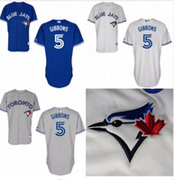 Wholesale 2016 Men John Gibbons Jersey Toronto blue jays Authentic Home John Gibbons Baseball Jersey Stitched