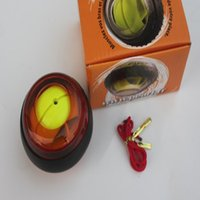 Wholesale New Colors Powerball with LED light ForceBall Gyroscope Wrist Strengthener Ball Grip Spin RPMS