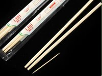 bamboo fast food - Natural Bamboo Chopsticks Fast Food Disposable Chopsticks With Toothpick