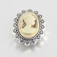 beauty foods - 2016 Hot beauty snap buttons copper button women interchangeable jewelry