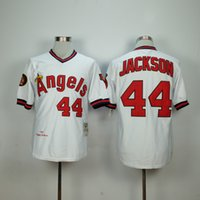 angeles store - 2016 Flexbase Reggie Jackson Los Angeles Angels Mens Baseball Jerseys White Grey Cheap Outlets Store
