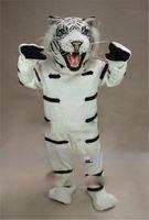 albino animals - Albino Tiger Mascot Costume Costume Hot Sale Adult Size Wild Animal Theme Mascotte Mascota Outfit Suit Fancy Dress Cosply