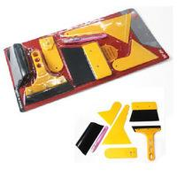 application installation - set Deluxe Car Vehicle Window Vinyl Film Wrap Application Installation Tools Kit Set
