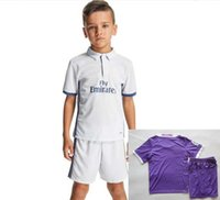 Wholesale 16 Real Madrid Kids shirt Thai edition quality of RONALDO KROOS jersey