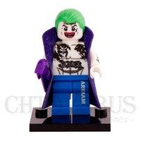 batman tattoos - tattoo Joker with Cloak Batman Suicide Squad Super Heroes Minifigures Assemble Building Blocks Kids Learning Toys Gifts