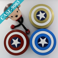 america contact - Captain America Design Colored Contacts Case Crazy Lens Case Accessories