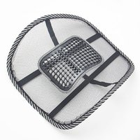 acura home - Interior Accessories Seat Covers Hot Sale Office Home Car Chair Seat Chair Back Support Brace Mesh Massage Cushion