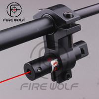 barrel light mount - Tactical Hunting Red Laser Dot Sight Scopes Adjustable Barrel Tube Ring Mount for Rifle