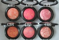 Wholesale cosmetics professional lady blush China post air mail mineralize blush g
