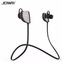 Wholesale 2016 New Original JOWAY H07 Sport Wireless Bluetooth Headset V4 Stereo earphones with mic For iphone Samsung note and Xiaomi phone