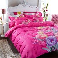 Wholesale Bedding set quilt cover bedding sheet bedspreads home textile cotton floral bedclothes Promotion