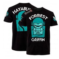 Wholesale The MMA Hayabusa Forrest Griffin black short sleeved T shirt Boxing